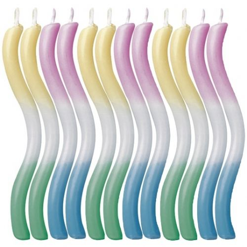 Tricolor Candles